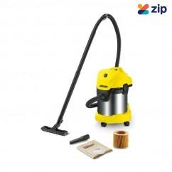 Karcher WD 3 PREMIUM - 1000W 17L W/D Vacuum Cleaner 1.629-849.0
