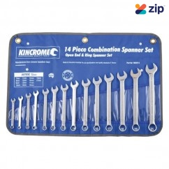 Kincrome 1352214 - 14 Piece Metric Combination Spanner Set Spanner