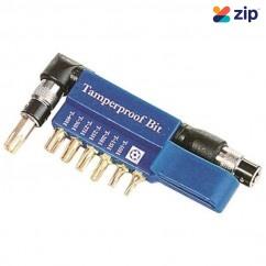 "Kincrome 13645 - 8 Piece 1/4"" Hex Drive Tamperproof TORXSet Drill/Driver Bit Sets"