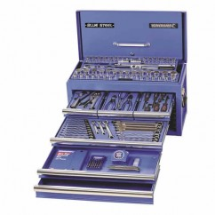 "Kincrome 21094 - BLUESTEEL Tool Chest 153 PCE 1/4, 3/8 & 1/2"" Square Drive Tool Kit"