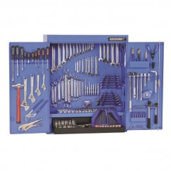 "Kincrome 21584 - 295 Piece 1/4, 3/8 & 1/2"" Drive Tool Cabinet (Tools Only) Tool Kit"
