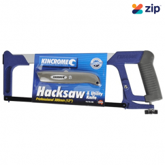 "Kincrome 400 - 12"" 300mm Hacksaw Frame Heavy Duty and Utility Knife Saws"
