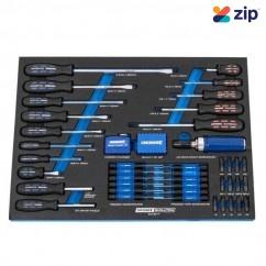 Kincrome EVA421T - 75 Piece EVA Tray TORQUEMASTER Screwdriver Screwdriver Sets