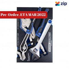 Kincrome EVA445T - 3 Piece EVA Tray Plier and Wrench Plier