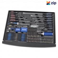 Kincrome EVA560T - 131 Piece EVA Tray Screwdriver & Fastening Set Screwdriver Sets