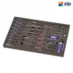 Kincrome EVA66T - 72 Piece EVA Tray Screwdrivers & Fastening Set Screwdriver Sets