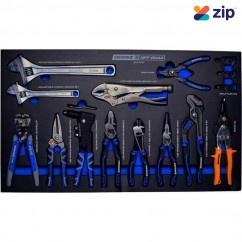 Kincrome EVA703T - 12 Piece EVA Tray Plier & Wrench Plier