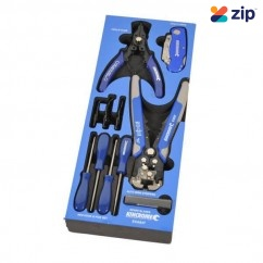 Kincrome EVA84T - 11 Piece EVA Tray Pliers, Knife, Hook & Pick Set Plier