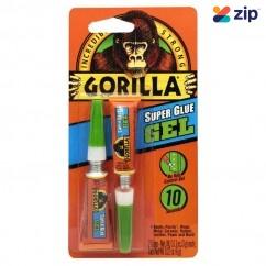 Kincrome 41025 - 2x3g Gorilla Super Glue Gel Adhesives-Sealants