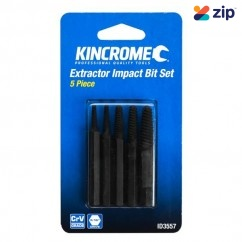 Kincrome ID3557 - 5 Pce Extractor Impact Bits Drill/Driver Bit Sets