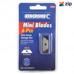 Kincrome K060073 - 6 Piece Mini Knife Blades Cutting Knives