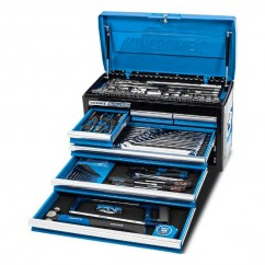 "Kincrome K1210 - 133 Piece 6 Drawer 1/4"", 3/8"" & 1/2"" Drive Evolution Tool Chest Workshop Tool Boxes & Trolleys"