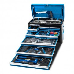"Kincrome K1215 - 172 Piece 9 Drawer 1/4"", 3/8"" & 1/2"" Drive Evolution Tool Chest Workshop Tool Boxes & Trolleys"