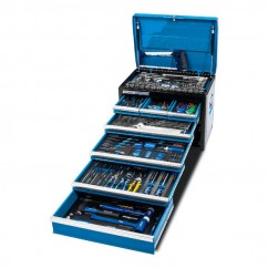"Kincrome K1218 - 281 Piece 7 Drawer 1/4"", 3/8"" & 1/2"" Drive Evolution Tool Chest Workshop Tool Boxes & Trolleys"