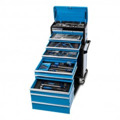 "Kincrome K1225 - 185 Piece 11 Drawer 1/4"", 3/8"" & 1/2"" Drive Evolution Tool Chest Workshop Tool Boxes & Trolleys"