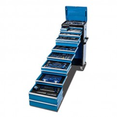 "Kincrome K1228 - 466 Piece 14 Drawer 1/4"", 3/8"" & 1/2"" Drive Evolution Tool Chest Workshop Tool Boxes & Trolleys"