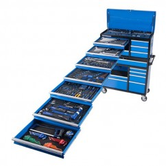 "Kincrome K1229 - 367 PC 18 Drawer Deep 1/4, 3/8 & 1/2"" Drive Evolution Tool Workshop  Tool Kit"