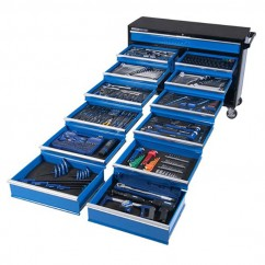 "Kincrome K1232 - 557 Piece 13 Drawer Extra Wide 1/4, 3/8 & 1/2"" Drive Evolution Tool Trolley Tool Kit"