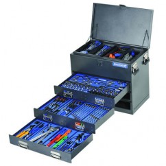 "Kincrome K1255 - 279 Piece 1/4, 3/8 & 1/2"" Square Drive Truck Box Tool Kit Workshop Tool Boxes & Trolleys"