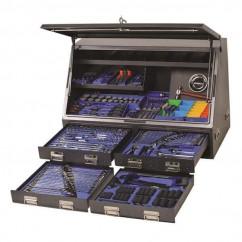 "Kincrome K1257 - 1/4, 3/8, 1/2 & 3/4"" 384 PCE Upright Truck Box Tool Kit Workshop Tool Boxes & Trolleys"
