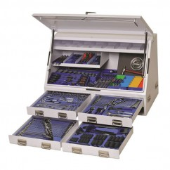 "Kincrome K1257W - 1/4, 3/8, 1/2 & 3/4"" 384 PCE Truck Box Tool Kit Workshop Tool Boxes & Trolleys"