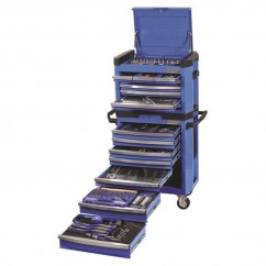 "Kincrome K1500 - 1/4, 3/8 & 1/2"" 472 PCE Contour Tool Workshop  Workshop Tool Boxes & Trolleys"