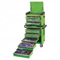 "Kincrome K1500G - 1/4, 3/8 & 1/2"" 472 PCE Contour Tool Workshop Workshop Tool Boxes & Trolleys"