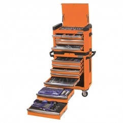 "Kincrome K1500O - 1/4, 3/8, & 1/2"" 472 PCE Square Drive Contour Tool Workshop Workshop Tool Boxes & Trolleys"