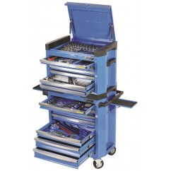 Kincrome K1503 - 228 Pce 15 Drawer Contour WorkShop Workshop Tool Boxes & Trolleys