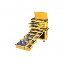 """Kincrome K1505Y - Imperial & Metric 594 PCE 1/4, 3/8 & 1/2"""" Tool Workshop Kit Workshop Tool Boxes & Trolleys"""