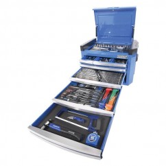 "Kincrome K1507 - 1/4, 3/8 & 1/2"" 236 PCE Square Drive CONTOUR Tool Chest Workshop Tool Boxes & Trolleys"