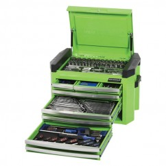 "Kincrome K1509G - 1/4, 3/8 & 1/2"" 207 PCE Square Drive Tool Chest Kit Workshop Tool Boxes & Trolleys"