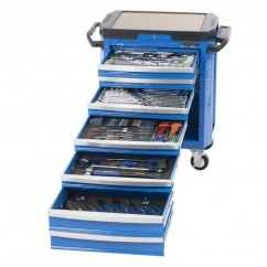"Kincrome K1520 - CONTOUR 252 Piece 7 Drawer 1/4, 3/8 & 1/2"" Drive Tool Trolley"