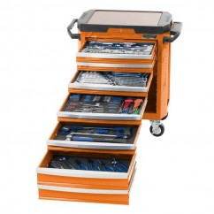 "Kincrome K1520O - CONTOUR 252 Piece 7 Drawer 1/4, 3/8 & 1/2"" Drive Tool Trolley"