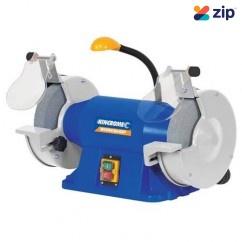 """Kincrome K15200 - 230V 50Hz 200MM (8"""") Bench Grinder With Flexible LED Light 240V Grinders - Bench"""