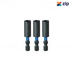 Kincrome K21493 - 50mm 3 Piece Extreme Magnetic C-Clip Bit Coupler Drill/Driver Bit Sets