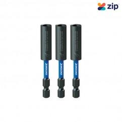Kincrome K21495 - 75mm 3 Piece Extreme Magnetic C-Clip Bit Coupler Drill/Driver Bit Sets