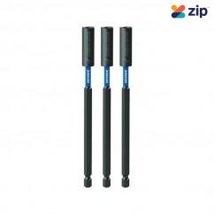Kincrome K21497 - 150mm 3 Piece Extreme Magnetic C-Clip Bit Coupler Drill/Driver Bit Sets