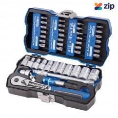 "Kincrome K27000 - LOK-ON 43Piece 1/4"" Drive Socket & Bit Set Socket Sets"