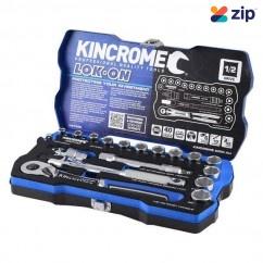 "Kincrome K27020 - 18 Piece 1/2"" Square Drive LOK-ON Socket Set Socket Sets"