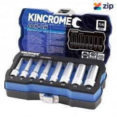 """Kincrome K27050 - 8 PC 1/4"""" Drive Lok-On Socket Set - Metric Socket Sets"""