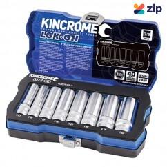 """Kincrome K27054 - 3/8"""" Drive 8 PC Lok-On Socket Set - Metric Socket Sets"""