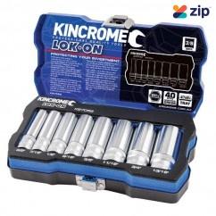 "Kincrome K27055 - 3/8"" Drive 8 PC Lok-On Socket Set - Imperial"