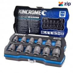 """Kincrome K27070 - 1/2"""" Drive 12 PC Lok-On Impact Socket Set - Metric"""