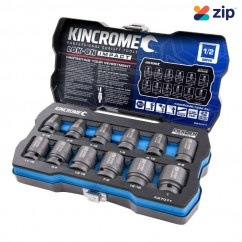 """Kincrome K27071 - 1/2"""" Drive 12 PC Lok-On Impact Socket Set - Imperial"""