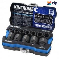 "Kincrome K27076 - Metric LOK-ON 12 Piece 3/8"" Impact Socket Set Socket Sets"