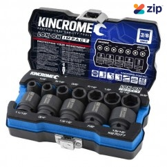 "Kincrome K27077 - Imperial LOK-ON 12 Piece 3/8"" Impact Socket Set Socket Sets"