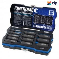 "Kincrome K27078 - Imperial LOK-ON 12 Piece 3/8"" Deep Impact Socket Set Socket Sets"