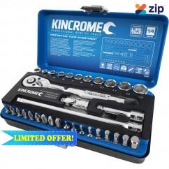 "Kincrome K28002A - 33 Pieces 1/4"" Drive Socket & Bit Set"