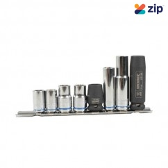 Kincrome K28034 - 8 Piece 10MM On Clip Rail Single Size Socket Set